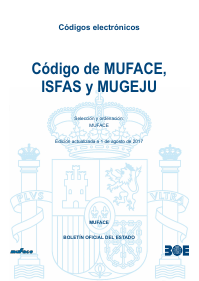 _ Code MUFACE _ ISFAS _ and _ MUGEJU